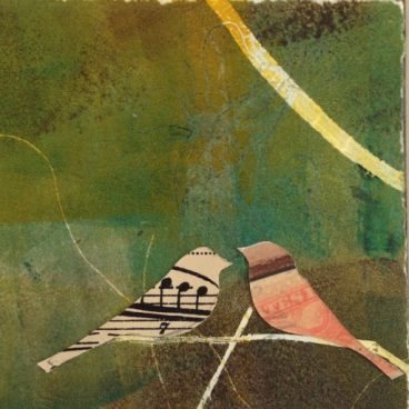 Lovebird Collage