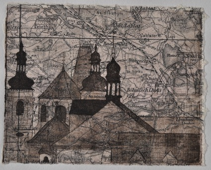 Prague Etching